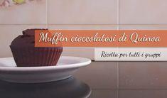 muffin cioccolatosi di quinoa