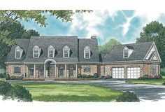 House Plan 039-00592 - Mountain Plan: 3,861 Square Feet, 3 Bedrooms, 3 Bathrooms