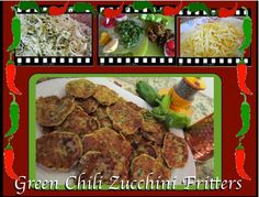 Community - Green Chili Zucchini Fritters