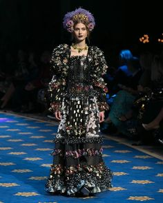 Dolce & Gabbana Alta Moda wiosna-lato 2017