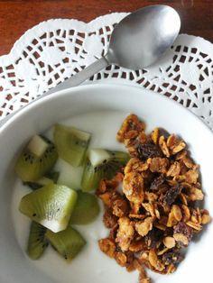 Tè verde e pasticcini: { Granola } - Granola alla frutta
