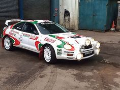 1994 TOYOTA CELICA GT-4 St205 rally car/track day msa logbook