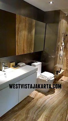 Design interior apartemen West Vista Jakarta #Bathroom #westvistajakarta