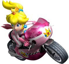 Peach & Sneakster. Mario Kart wii = PWNage