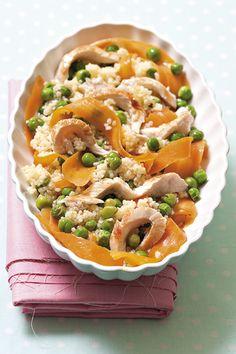 Recepty pro děti: Recept na kuskus s kuřecím masem a zeleninou