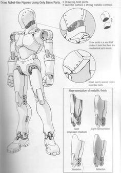 Dibujo de cuerpo completo, manga