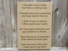 I Thought Of You Today But That Is Nothing by FussyMussyDesigns