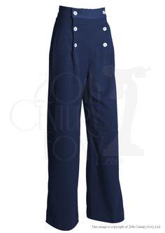 1930s Sailor Pants - Navy