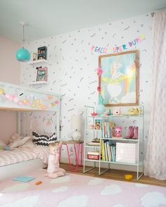Pastel shared little girls' room via  @laybabylay