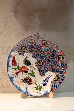 Handmade Turkısh plate.༺JS༻