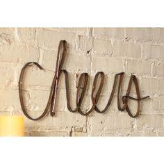 Scrap Cheers Wall Art