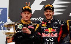 Raikkonen & Vettel