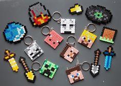 Minecraft i Hamaperler