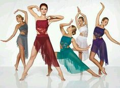 Ballet, turquoise sparky bodice with an asymmetrical skirt