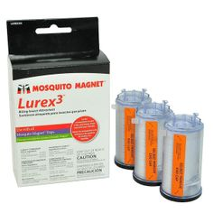 Attrattivo Lurex 3 Zanzara Tigre, compatibile con tutte le macchine mosquito magnet