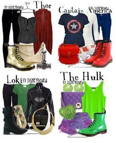 DisneyBound Marvel | Disney Bound | dressforms