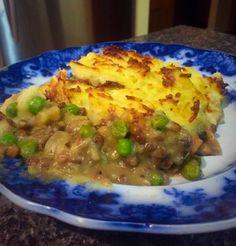 Vegetarian Shepherds Pie, Food To Make, Homemade, Blog, Recipes, Vegetarian Pie, Home Made, Blogging