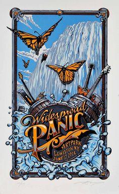 Widespread Panic - Lewiston NY, 2014