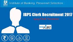 ibps clerk recruitment 2017