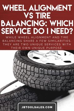Do I need a wheel alignment or tire balancing? This is a common question asked by drivers. Some drivers assume the two services are the same. While wheel alignment and tire balancing share a few similarities, they are two unique services with their own unique purpose. click to read and gain a better understanding of the nuances between wheel alignment and tire balancing, and which service is best suited for your vehicle.  Choose wisely and be 1SAFEDRIVER.COM