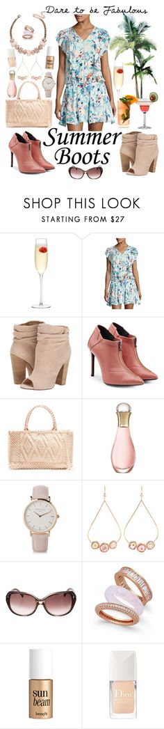 """""""Summer Boots"""" by linmari ❤ liked on Polyvore featuring LSA International, Parker, Chinese Laundry, Roland Mouret, Antonello Tedde, Christian Dior, ROSEFIELD, Jacquie Aiche, Paul & Pitü Naturally and Fresca"""