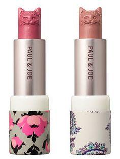 lipstick Cat Makeup, Makeup Tips, Beauty Makeup, Lip Gloss, Mascara Hacks, Cute Lipstick, Makeup Lipstick, Paul And Joe, Summer Makeup Looks