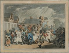 Rowlandson, A Sudden Squall in Hyde Park (Low Res)