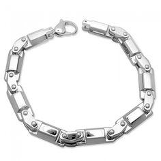 Men's Bracelets Stainless Steel