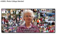 Personalized photo gifts for birthday and anniversary – custom portrait painting, personal pop art, picture collage customized just for you Pop Art Collage, Collage Ideas, Birthday Photo Collage, Birthday Photos, Photocollage, Personalized Photo Gifts, 80th Birthday, Portrait, Artwork