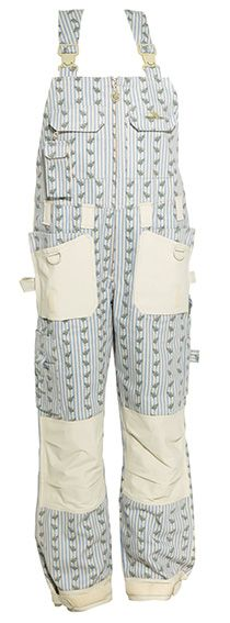 How cute are these bib pants from Garden Girl USA?