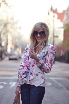 floral blazers!