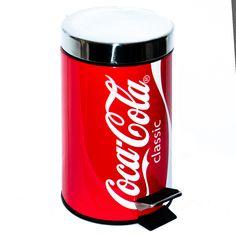 Coca Cola trash can