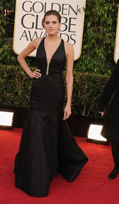 Allison Williams at the Golden Globe Awards 2013 #RedCarpet #GoldenGlobes