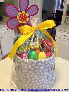 Mini Utility Bin Easter Basket!!!!! Easter is around the corner!!!! http://www.mythirtyone.com/jenwillett