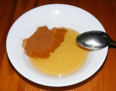 DIY: Honey and cinnamon facial mask/spot treatment// I've pinned something like this before but I'm pinning again to say I tried it and it's amazing. Left on for about twenty minutes, washed off and went to bed, instant improvement in dark marks and redness!
