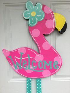 Ideas for summer door hangers diy products Summer Door Decorations, Summer Porch Decor, Door Hanger Template, Burlap Door Hangers, Owl Door Hangers, Spring Door, Porch Signs, Door Signs, Wood Cutouts