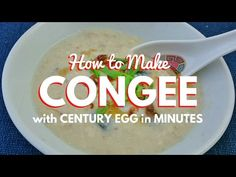 How to Make Congee with Leftover Rice - Jackie M