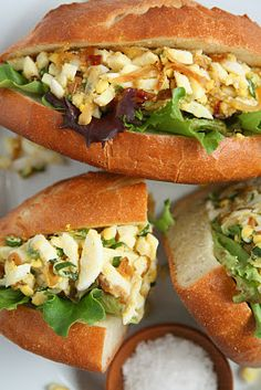 Mayo-free egg salad. Must try!