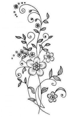 Cross-stitch Sailors Days-of-the-week Hot Iron Embroidery Transfers - Embroidery Design Guide Hand Embroidery Patterns, Vintage Embroidery, Ribbon Embroidery, Floral Embroidery, Embroidery Stitches, Machine Embroidery, Doodle Drawings, Doodle Art, Wood Burning Patterns