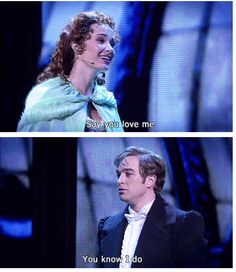 Raoul + Christine (Phantom of the Opera) GIFpair