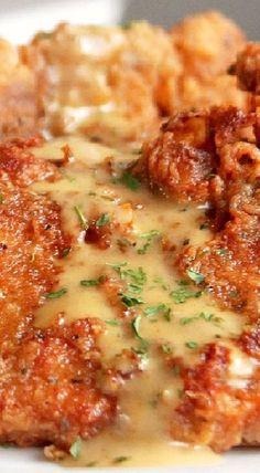 Spicy Fried Pork Chops.