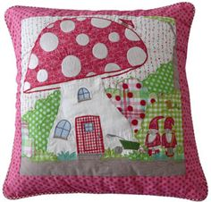 Toadstool Cusion Cover 40x40 by Room Seven