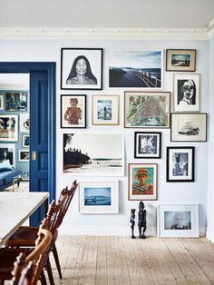 visit : a blue home in Sweden