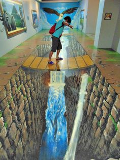 Amazing 3D art - AS I KEEP SAYING ----I SO WISH I KNEW HOW THE ARTISTS MANAGE TO CREATE SUCH AWESOME AND VERY 'REAL' PIECES OF WORK! - I AM ALWAYS, BEYOND AMAZED!! ✳✳✳