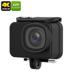 Action Camera MGCOOL Explorer Pro - 64 GB Memory, 2.0 Inch Touch Display, 7G Sharp Lens, 1100mAh Battery - Capture the amazing moments you experience with this lightweight and compact 4K action camera letting you preserve memories for a lifetime in UHD quality
