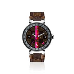 TAMBOUR HORIZON GRAPHITE 42 in WOMEN's JEWELRY & TIMEPIECES TIMEPIECES collections by Louis Vuitton