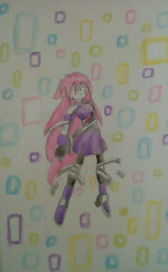 Her name is crystal and this is a spoiler from my story tha I create .Crystal is the first of her new generation of reploids .Reploids who can fight in two worlds :real world and cyber world .What happen to her ? After a big fight she lost and she trapped into the cyber black\dark hole for a long time .Also she is a werewolf  not a fox That' s all folks !