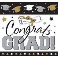 Black, Gold & Silver Graduation Decorations - Graduation Party - Party City