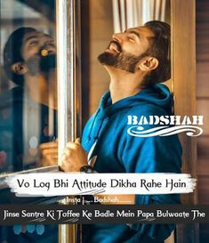 Badmash Poetry in Urdu for Boys with Quotes - Badmashi Shayari in Punjabi, SMS, Pics - SaD HD Poetry Quotes In Hindi Attitude, Attitude Quotes For Boys, Mood Quotes, Attitude Shayari For Boys, Attitude Thoughts, Positive Attitude, King Quotes, Lovers Quotes, Bad Boy Quotes