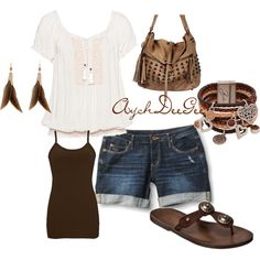 cute country summer outfit